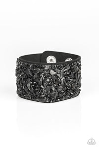 Crush Rush - Black: Paparazzi Accessories - Jewels N' Thingz Boutique