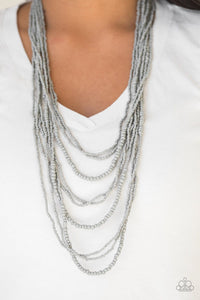Totally Tonga - Silver: Paparazzi Accessories - Jewels N' Thingz Boutique