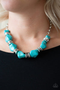 Stunningly Stone Age - Turquoise: Paparazzi Accessories - Jewels N' Thingz Boutique