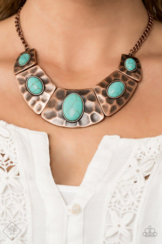 RULER In Favor - Turquoise: Paparazzi Accessories