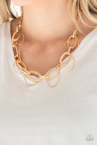 Very Avant-Garde - Gold: Paparazzi Accessories - Jewels N' Thingz Boutique