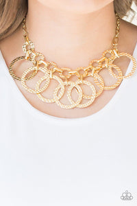 Jammin Jungle - Gold: Paparazzi Accessories - Jewels N' Thingz Boutique
