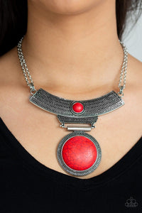 Lasting EMPRESS-ions - Red: Paparazzi Accessories - Jewels N' Thingz Boutique