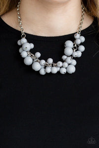 Paparazzi: Walk This BROADWAY - Silver Necklace