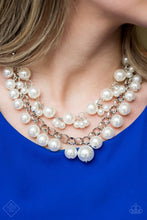 Load image into Gallery viewer, BALLROOM Service: White - Paparazzi Accessories - Jewels N' Thingz Boutique