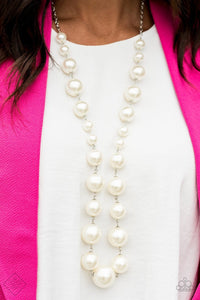 The Show Must Go On! - White - Jewels N' Thingz Boutique