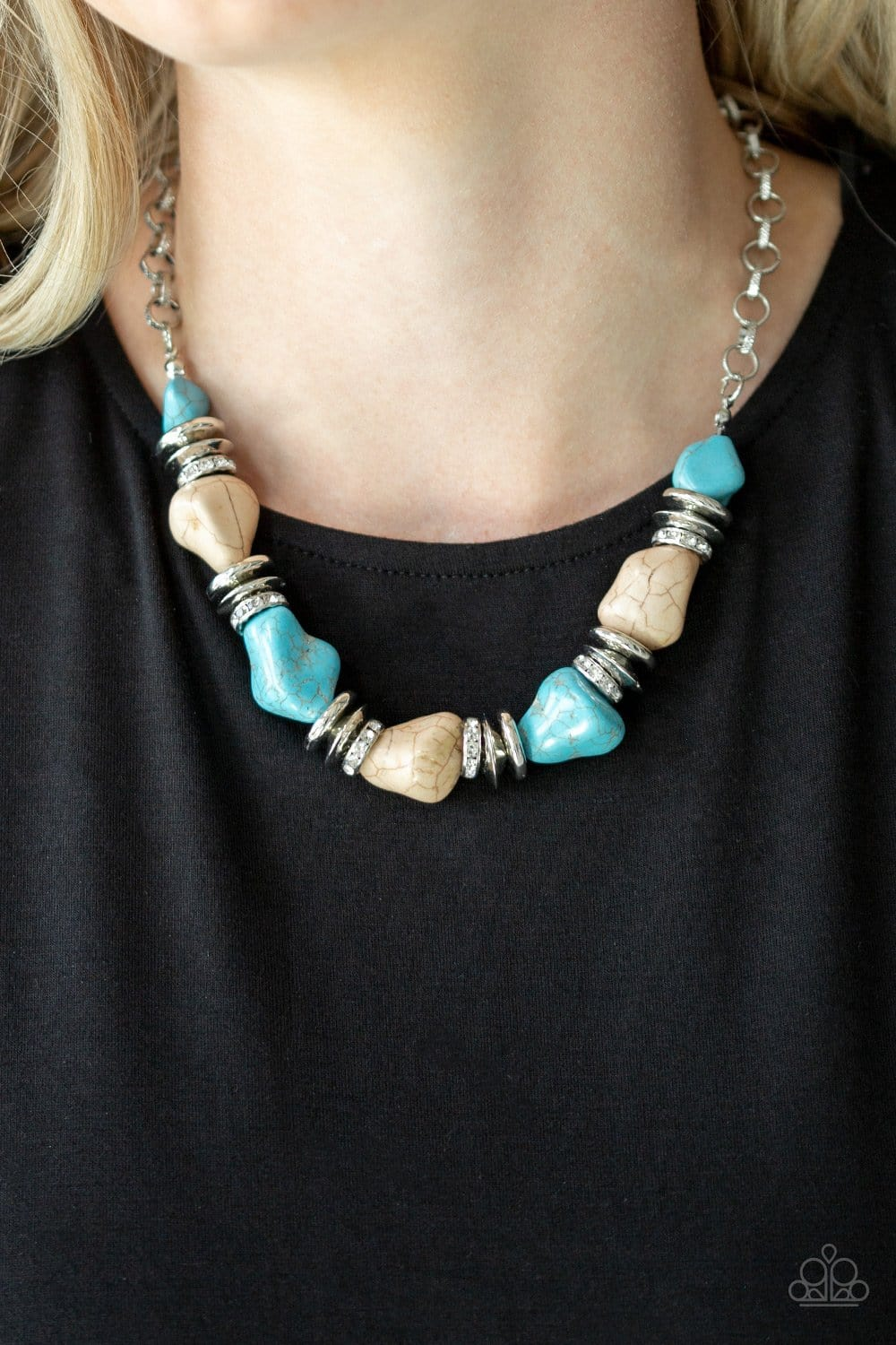 Stunningly Stone Age - Multi: Paparazzi Accessories - Jewels N' Thingz Boutique