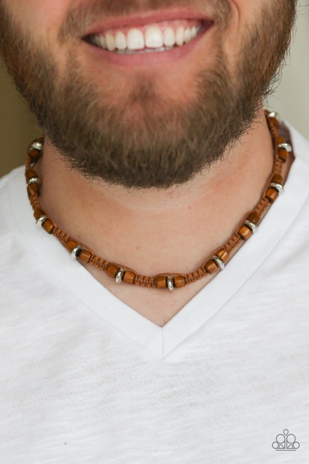 Paparazzi: WOOD You Believe It? - Brown Necklace