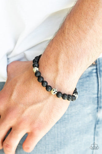 Paparazzi: Enlivened - Multi Lava Stone Bracelet
