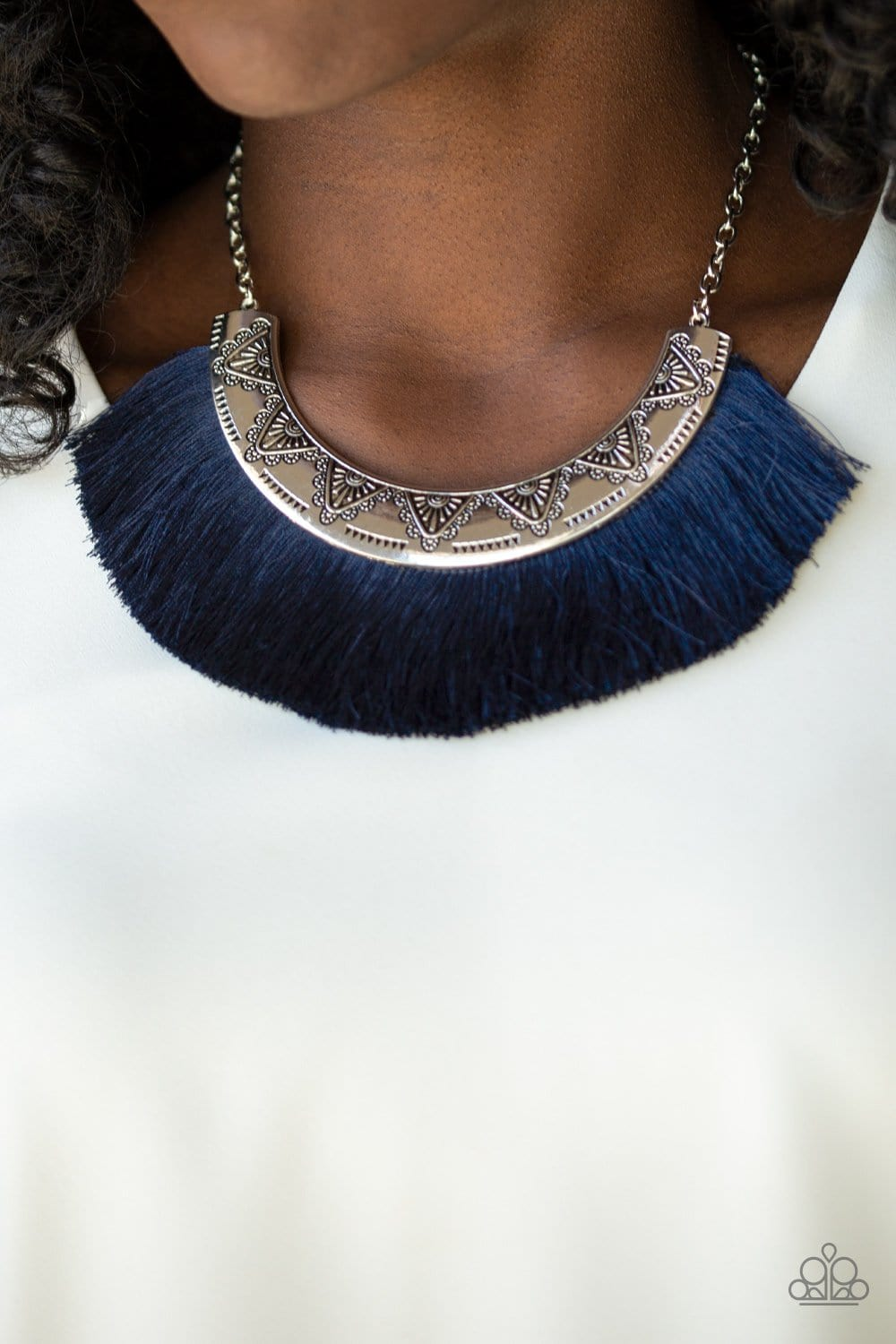 Might and MANE - Blue: Paparazzi Accessories - Jewels N' Thingz Boutique