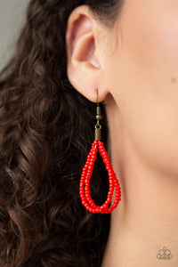Kickin It Outback - Red: Paparazzi Accessories - Jewels N' Thingz Boutique