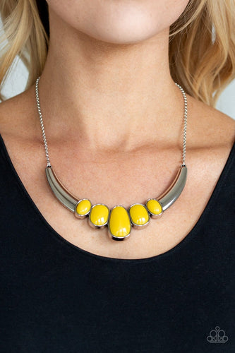A BULL House - Yellow: Paparazzi Accessories
