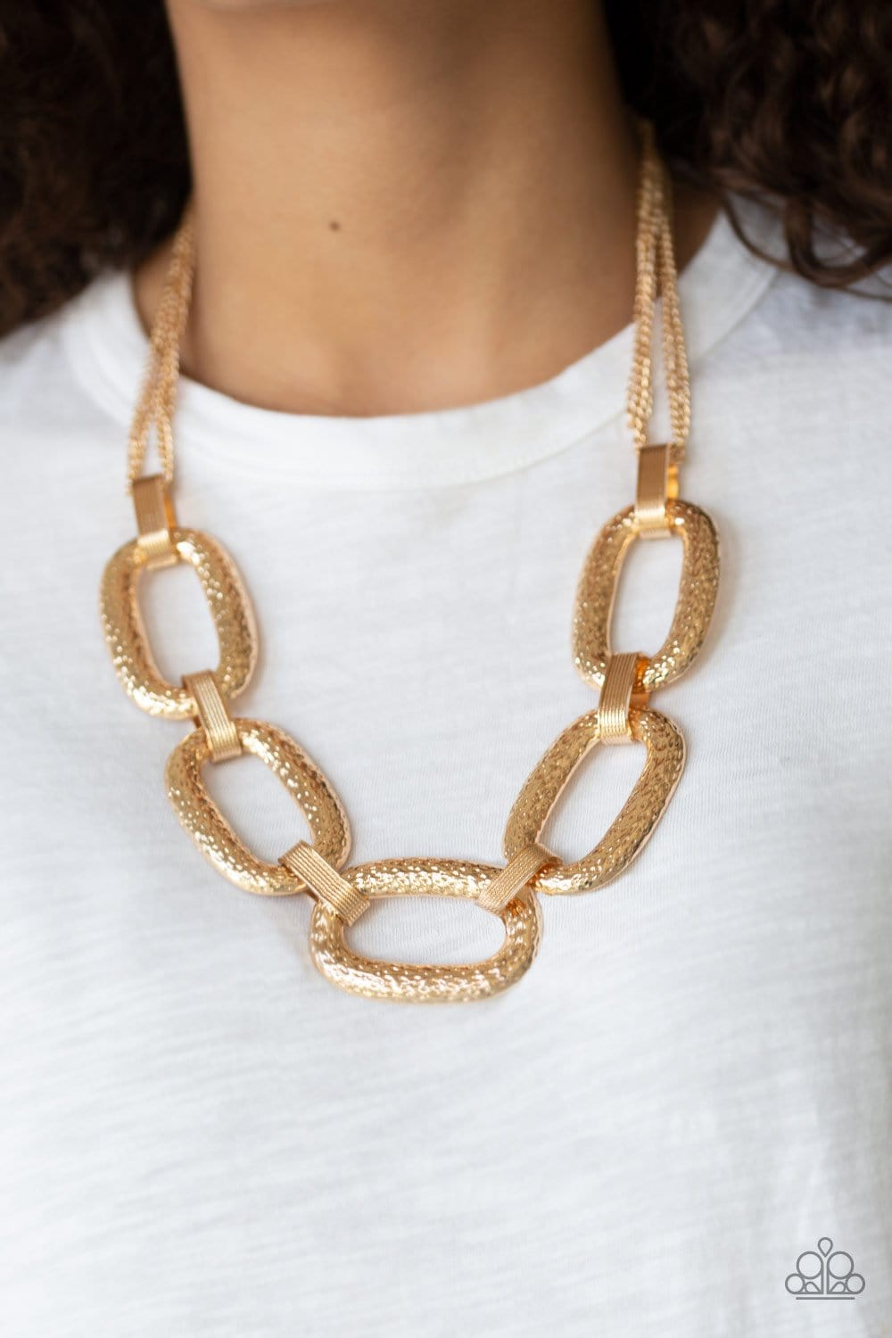 Take Charge - Gold: Paparazzi Accessories - Jewels N' Thingz Boutique