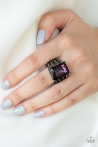Expect Heavy REIGN - Purple: Paparazzi Accessories - Jewels N' Thingz Boutique