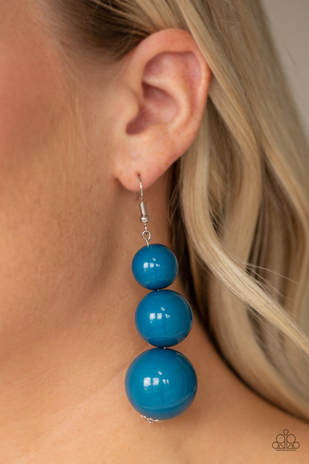 Material World - Blue: Paparazzi Accessories - Jewels N' Thingz Boutique