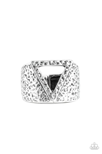 Paparazzi: Triathlon - Silver Ring - Jewels N' Thingz Boutique