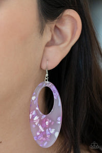 Rainbow Springs - Multi Acrylic Earrings: Paparazzi