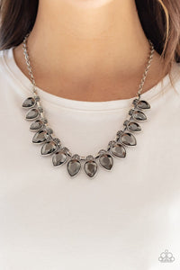 FEARLESS Is More: Gunmetal Necklace - Paparazzi