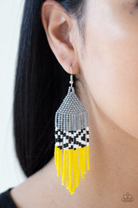 Paparazzi: Beautifully BEADazzling - Silver Seed Bead Earrings - Jewels N' Thingz Boutique