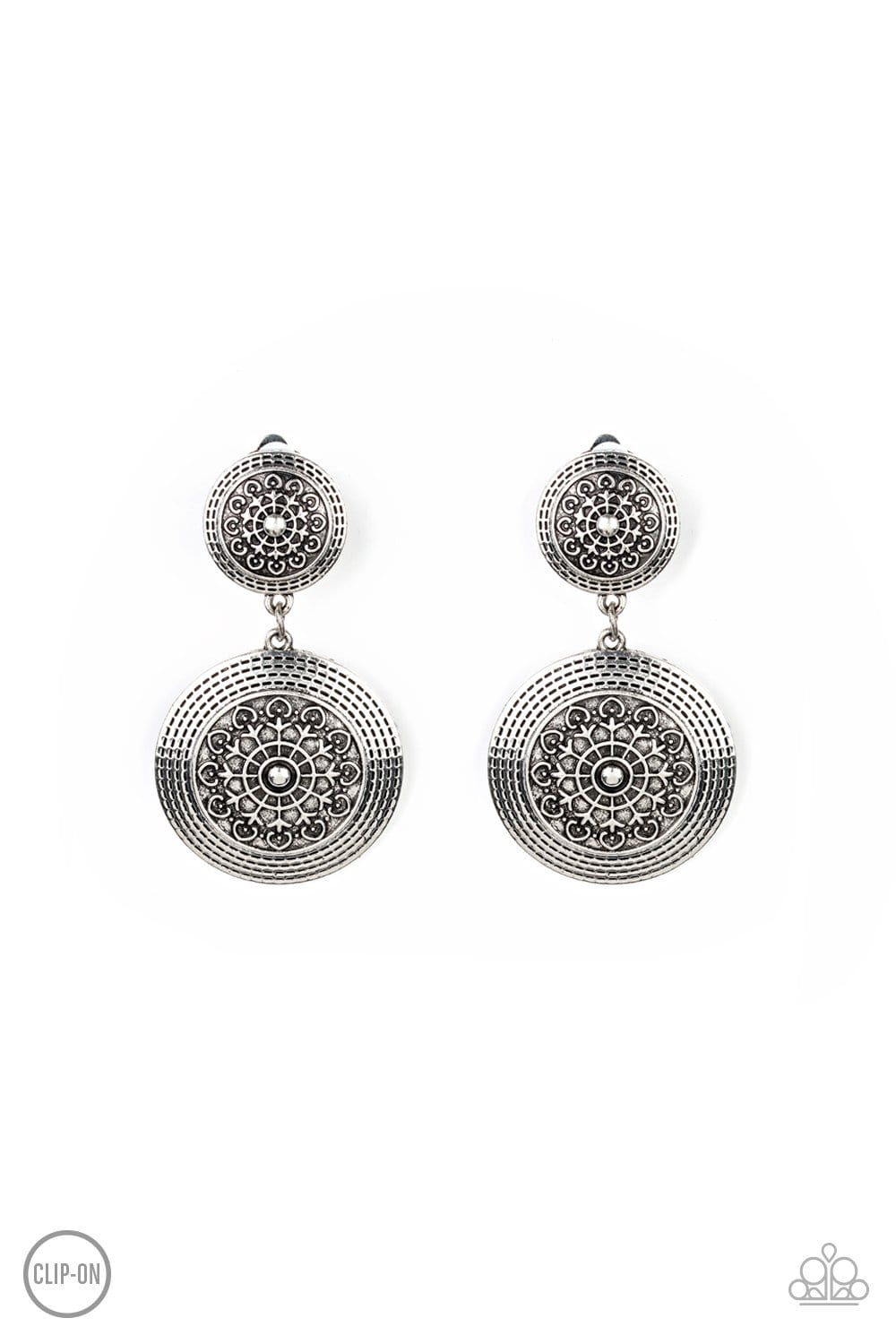 Magnificent Medallions - Silver: Paparazzi - Jewels N' Thingz Boutique