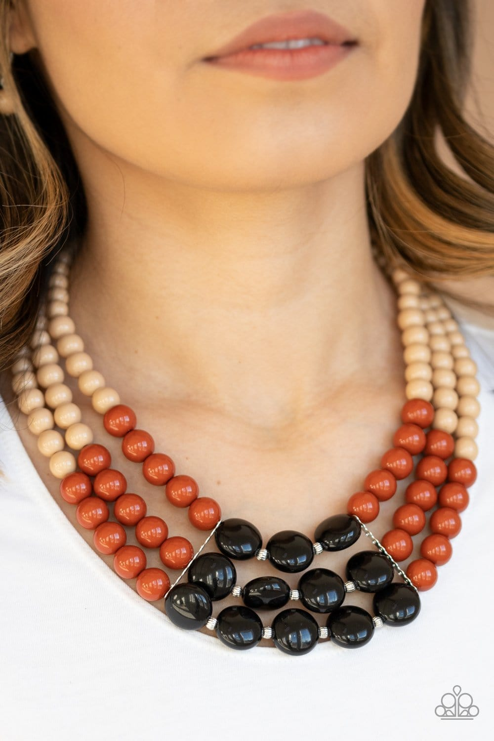 Paparazzi: Beach Bauble - Multi Necklace