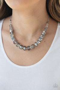Paparazzi: Distracted by Dazzle - Silver Necklace - Jewels N' Thingz Boutique
