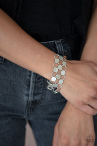 Paparazzi: Cast a Wider Net - Silver Bracelet - Jewels N' Thingz Boutique