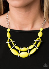 Load image into Gallery viewer, Paparazzi: Law of the Jungle - Yellow Necklace