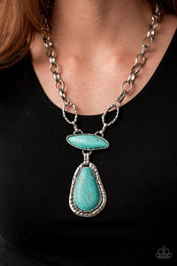 Paparazzi: Rural Rapture - Blue/Turquoise Necklace - Jewels N' Thingz Boutique