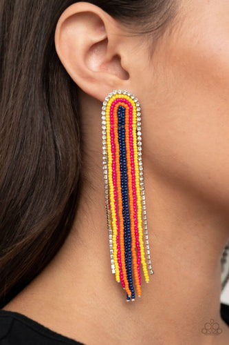 Paparazzi: Let There BEAD Light - Multi Seed Bead Earrings - Jewels N' Thingz Boutique