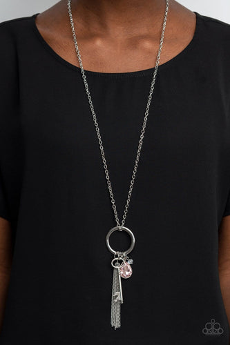 Paparazzi Accessories: Unlock Your Sparkle - Pink Necklace
