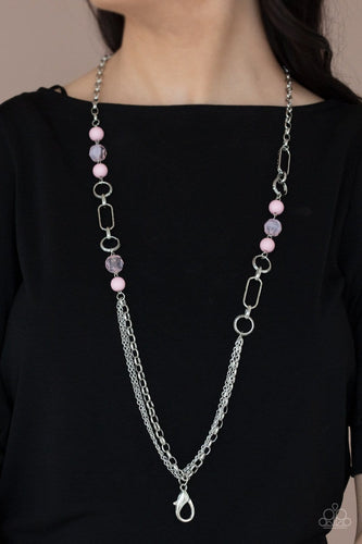 Paparazzi Accessories: POP-ular Opinion - Pink Lanyard