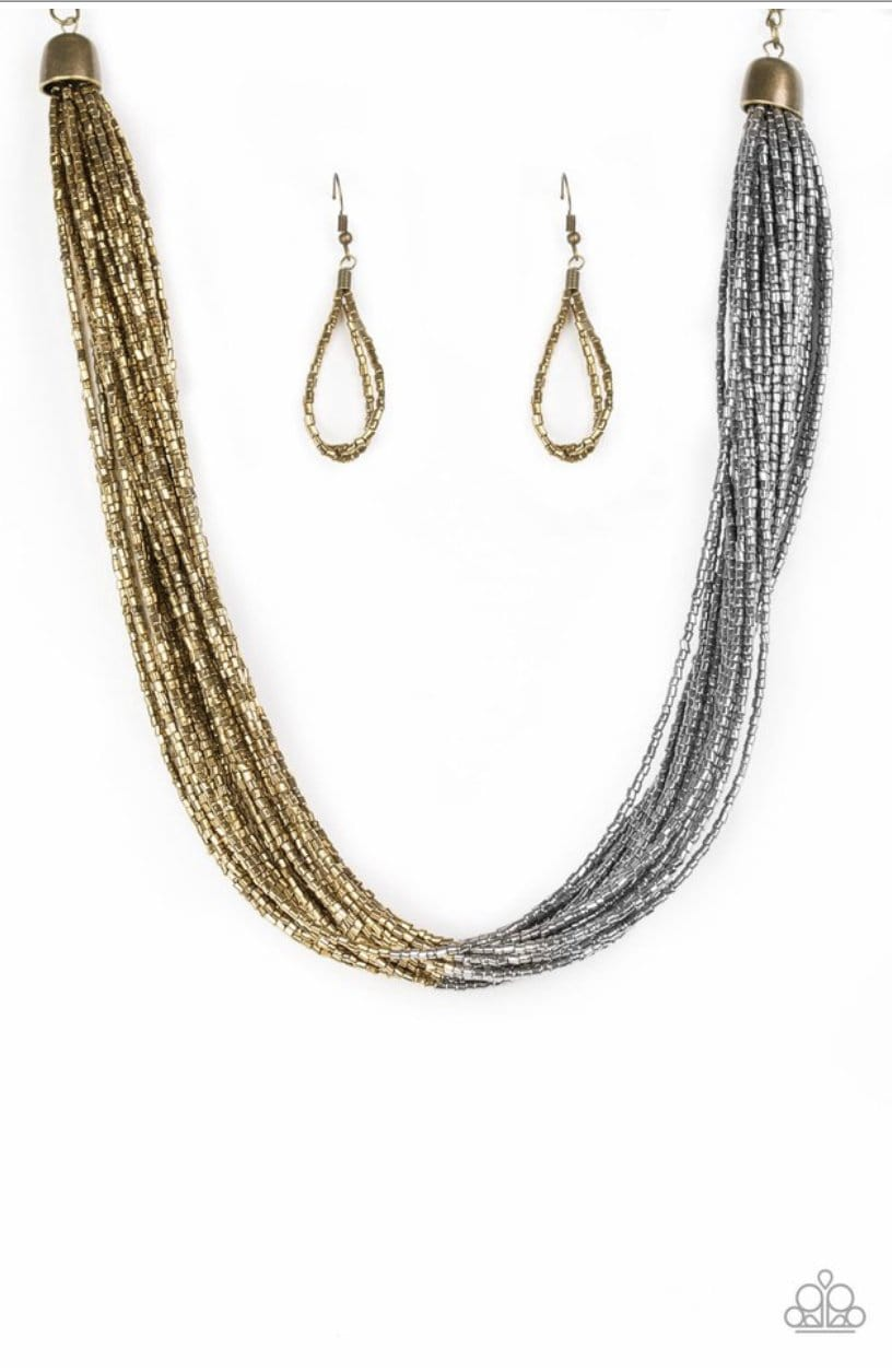 Flashy Fashion - Brass - Jewels N' Thingz Boutique