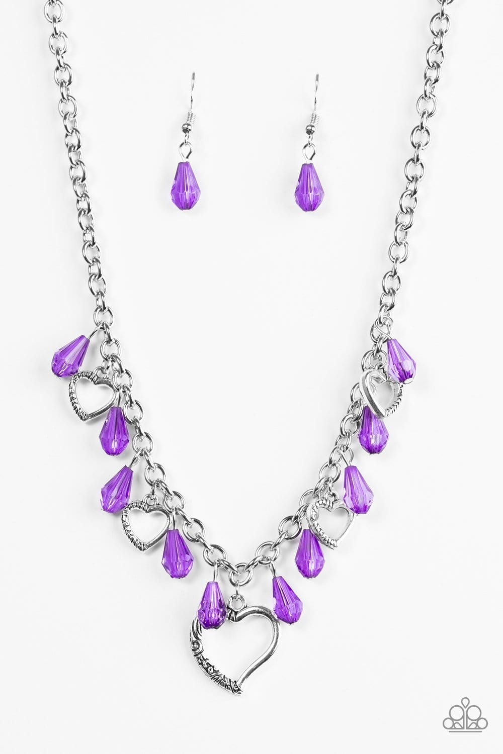 Keep Me In Your Heart - Purple - Jewels N' Thingz Boutique