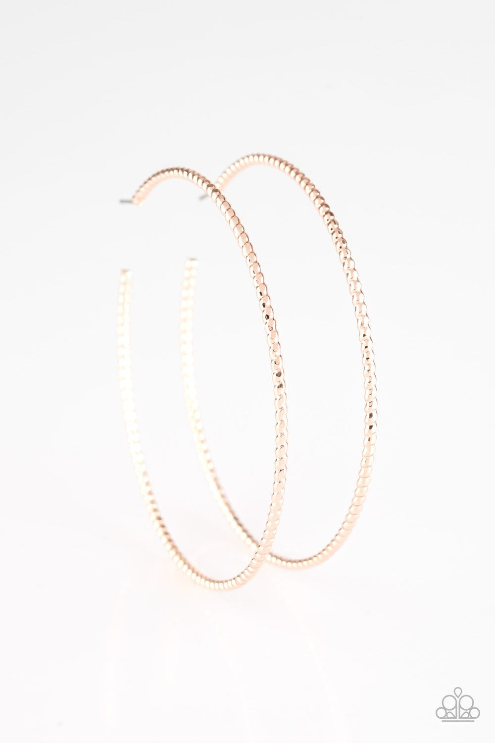 Hooked On Hoops - Rose Gold - Jewels N' Thingz Boutique