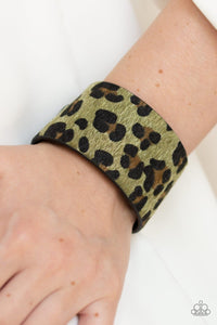 Cheetah Cabana - Green: Paparazzi Accessories - Jewels N' Thingz Boutique