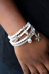 Ocean Breeze - White: Paparazzi Accessories - Jewels N' Thingz Boutique