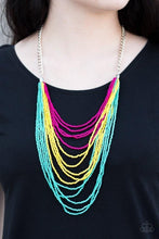 Load image into Gallery viewer, Paparazzi: Bora Bombora - Multi Seed Bead Necklace