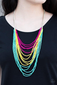 Paparazzi: Bora Bombora - Multi Seed Bead Necklace