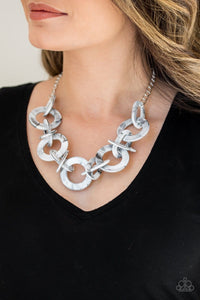 Chromatic Charm - Silver: Paparazzi Accessories - Jewels N' Thingz Boutique
