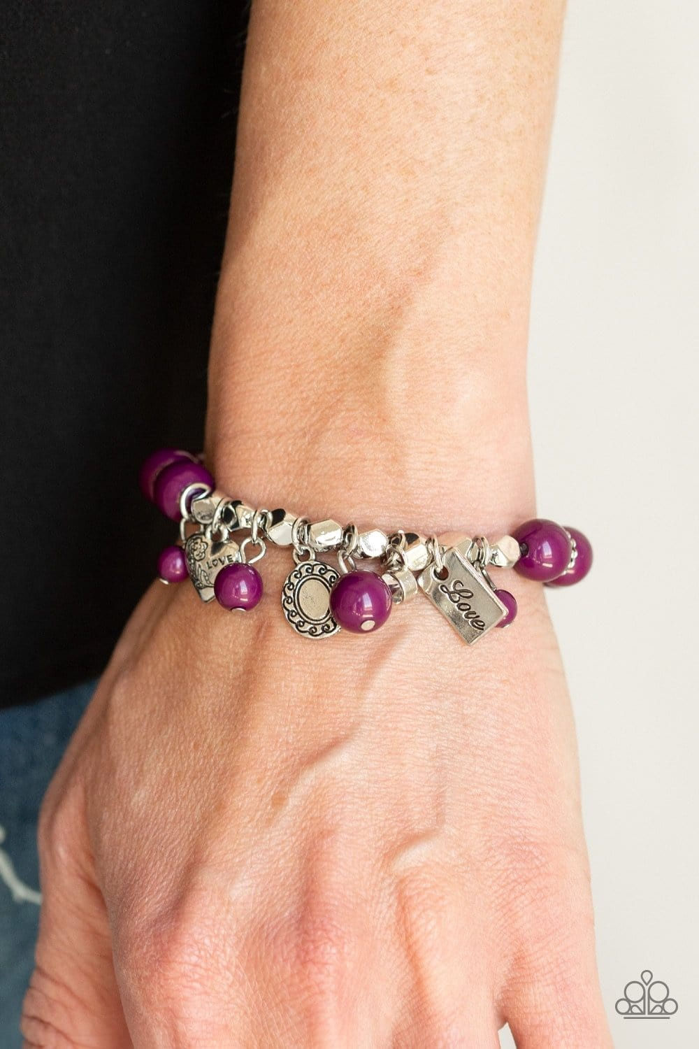 One True Love - Purple: Paparazzi Accessories - Jewels N' Thingz Boutique