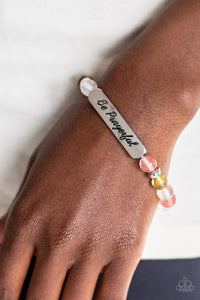 Paparazzi: Be Prayerful - Multi Inspirational Bracelet