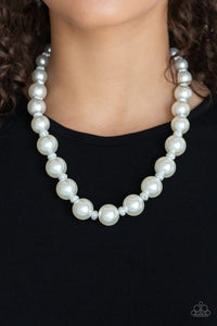 Uptown Heiress - White: Paparazzi Accessories - Jewels N' Thingz Boutique