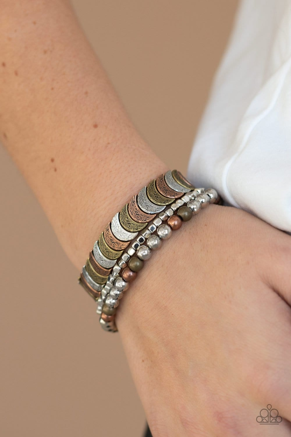 Paparazzi: LAYER It On Me - Multi Bracelet - Jewels N' Thingz Boutique