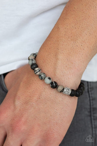 Take It Easy: Black Urban Bracelet - Paparazzi