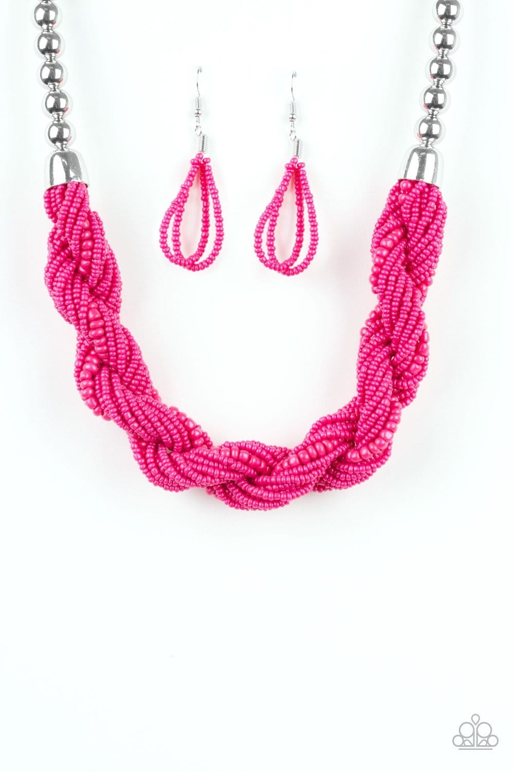 Savannah Surfin - Pink: Paparazzi Accessories - Jewels N' Thingz Boutique