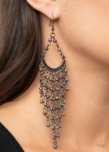Paparazzi Accessories: Metro Confetti - Multi Earrings - Life Of The Party Exclusive