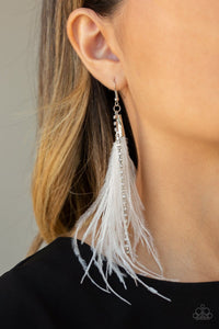 Showstopping Showgirl - White: Paparazzi Accessories - Jewels N' Thingz Boutique