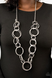 Natural-Born RINGLEADER - Silver: Paparazzi Accessories - Jewels N' Thingz Boutique