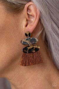 No One Likes A Cheetah - Brown: Paparazzi Accessories - Jewels N' Thingz Boutique